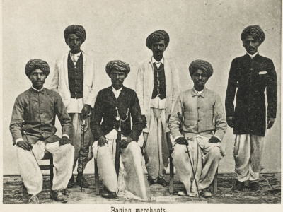 Aden, Yemen - Indian Hindu Gujarati Baniyan (Merchants)
