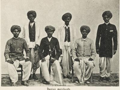 Aden, Yemen - Indian Hindu Gujarati Baniyan (Merchants)