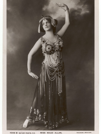Maud Allan Dancing During a ...