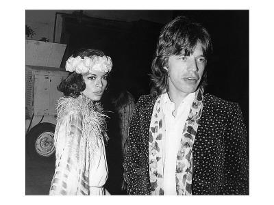 Marianne Faithfull and Mick Jagger