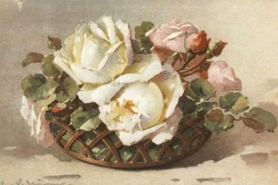 Corbeilles de Roses II