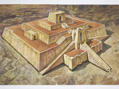 Great Ziggurat of Ur, Illustration