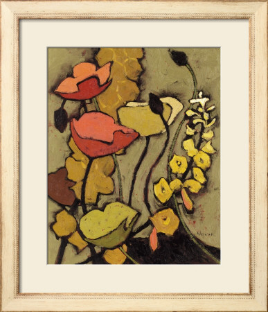 Colours de la Nuit I Framed Art Print