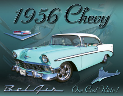 Buy Chevy 1956 Bel Air at AllPosters.com