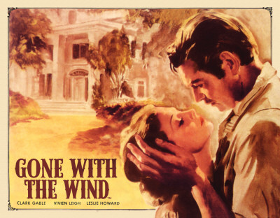 Gone with the Wind Poster at Tara