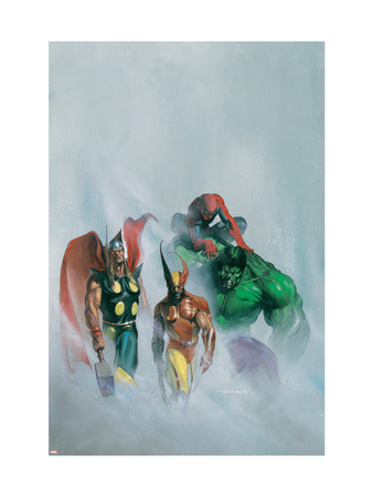 Secret War V1 #1 Group: Wolverine, Thor, Hulk and Spider-man