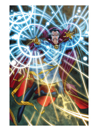 Marvel Adventures Super Heroes #5 Cover: Dr. Strange