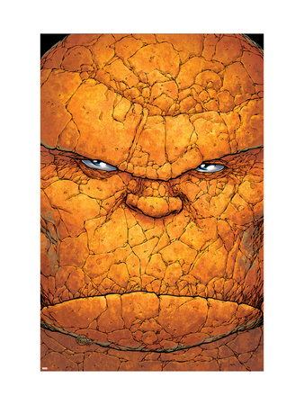 Ultimate Fantastic Four No.14 Cover: Thing