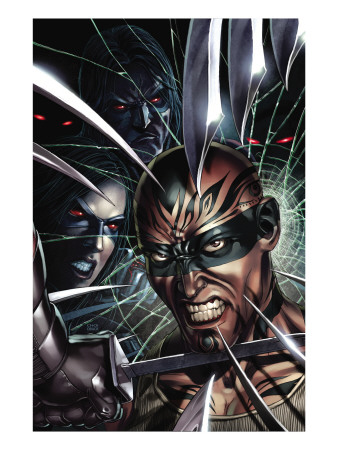 X-Force No.8 Cover: X-23 and Vanisher