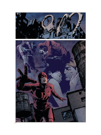 Daredevil #98 Group: Daredevil, Elektra and Bullseye