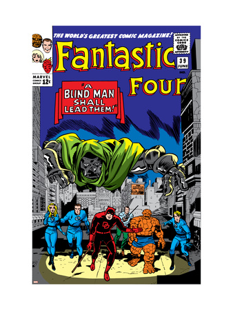 Fantastic Four #39 Cover: Dr. Doom