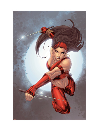 Ultimate Elektra #5 Cover: Elektra