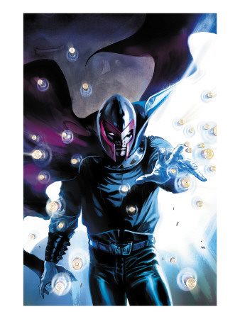 Ultimate Origins #3 Cover: Magneto