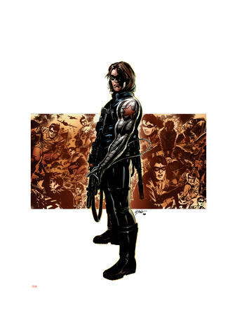 Captain America #11 Cover: Winter Soldier