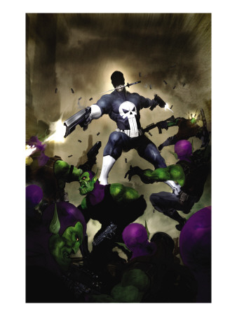 Punisher War Journal #25 Cover: Punisher