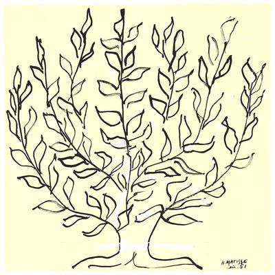 Le Buisson - Serigraph