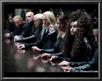 Harry Potter and The Deathly Hallows Part 1 - Deatheaters Photo