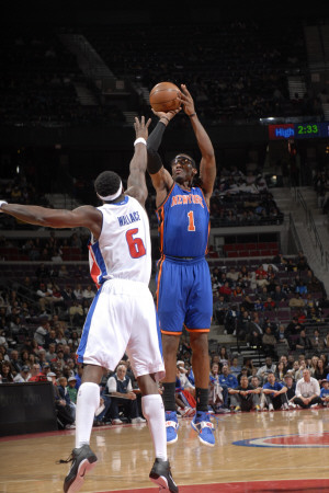 New York Knicks v Detroit Pistons: Amar