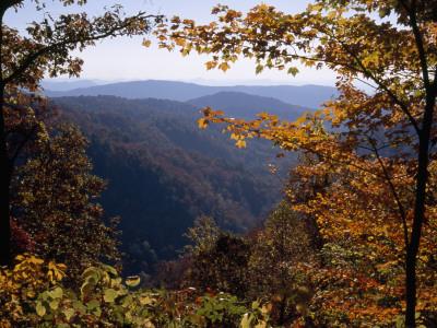 A Blue Ridge Mountain Escarpment ...