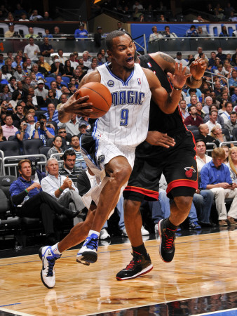 Miami Heat v Orlando Magic: Rashard Lewis