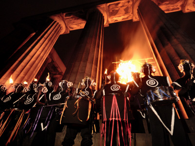 A Performance at the Annual Beltane Fire Festival on Calton Hill