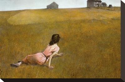 Christina's World, 1948 - Stretched Canvas Print