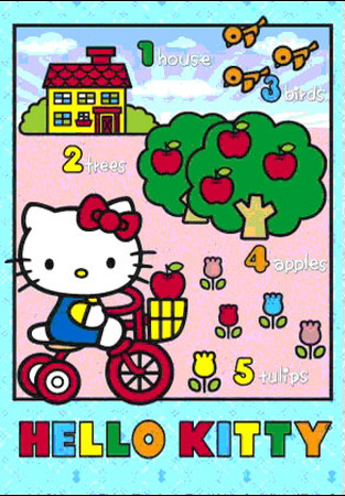 Hello Kitty - Bicycle - 3D Poster