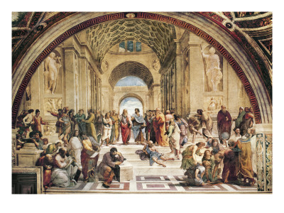 Stanza Della Segnatura: the School of Athens Art Print