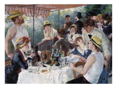 Luncheon of the Boating Party Premium Giclee Print