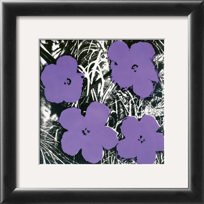 Flowers, c.1965 (Purple) Framed Art Print