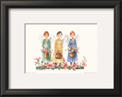 Three Sisters Framed Art Print
