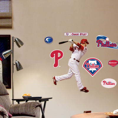 Chase Utley Fathead Junior