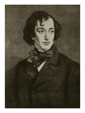 Portrait of Benjamin Disraeli, Illustration from