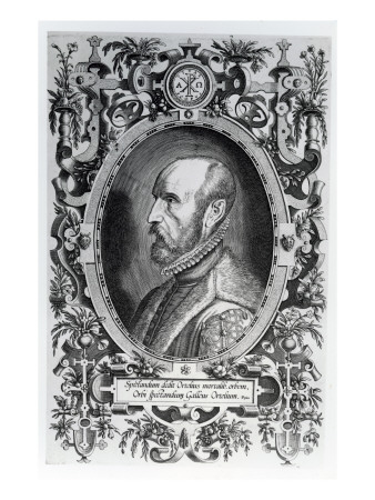 Abraham Ortelius, Frontispiece to His