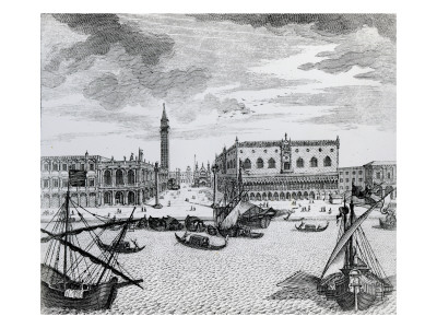 View of Piazza San Marco from the Bacino, Venice