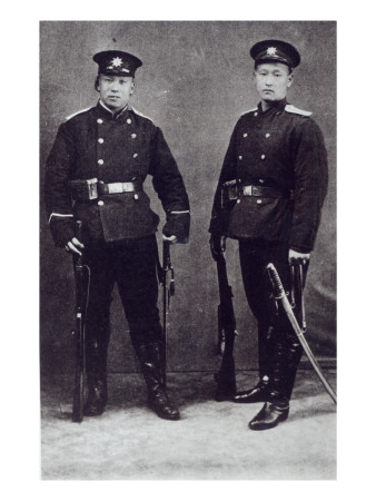 Government Soldiers in Tianjin