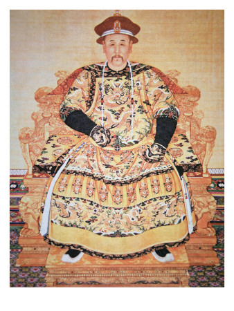 Chinese Emperor Chien Lung.