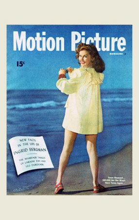 Susan Hayward - Motion Picture Magazine Cover 1930