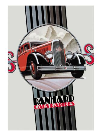 Panhard, Cars Rapides