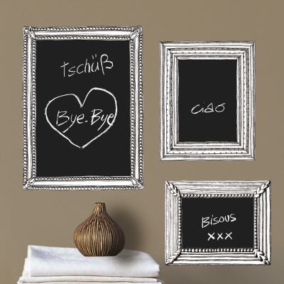 Hand drawn frames (Water Resistant Decal) Posters