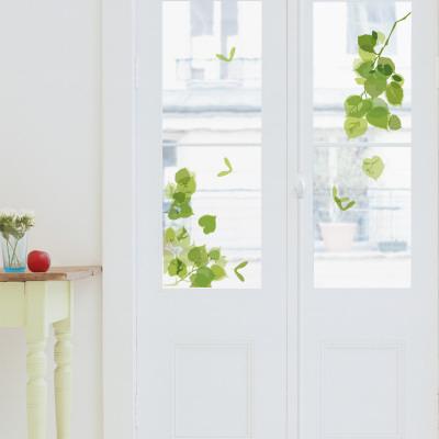 Green Leaves  (Window Decal)