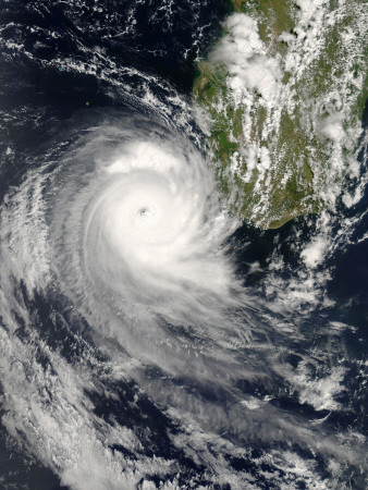 Tropical Cyclone Favio (14S) off Madagascar, February 20, 2007