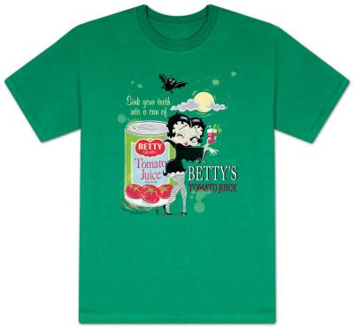 Betty Boop - Vampire Tomato Juice
