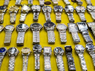 Watches for Sale on Patpong Road, Th Sukhumvit District