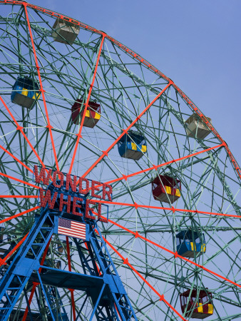 Historic Wonder Wheel Fairground, Coney Island