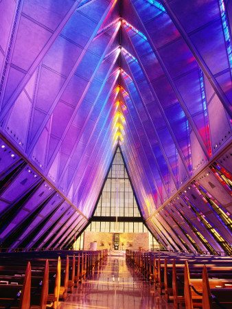 Cadet Chapel Interior, Us Air Force Academy