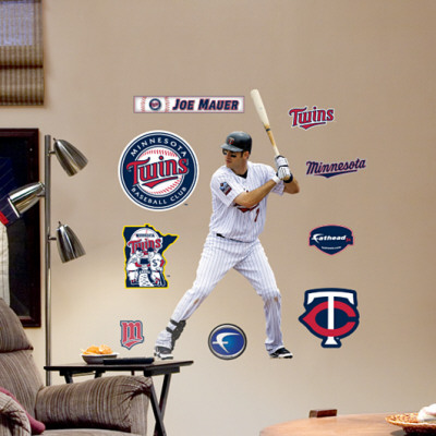 Joe Mauer - Fathead Junior