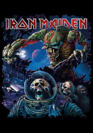 Poster Iron Maiden - Frontiers Album Cover..