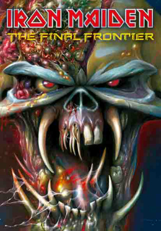 Poster Iron Maiden - Frontiers Head..