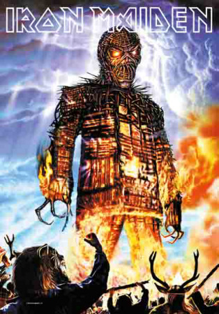 Poster Iron Maiden - Wicked Man..